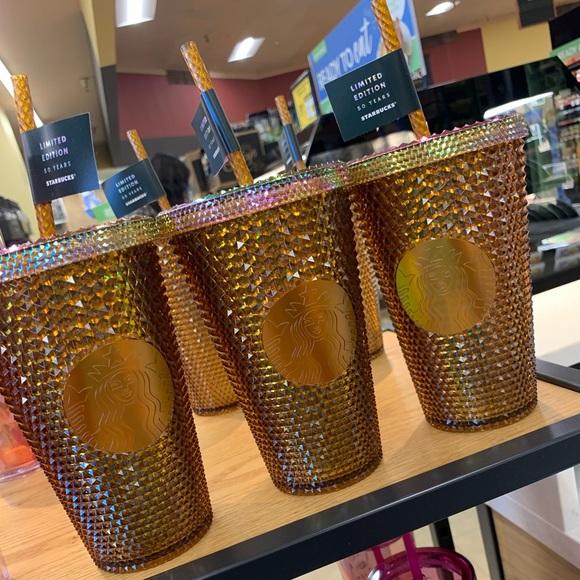 Honey color limited  edition Starbucks tumbler